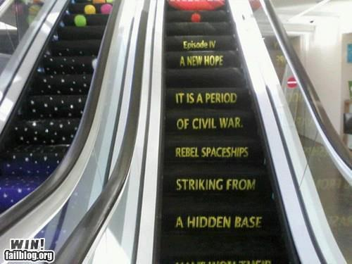 swegener:  Best. Escalator. EVER.    Holy shit
