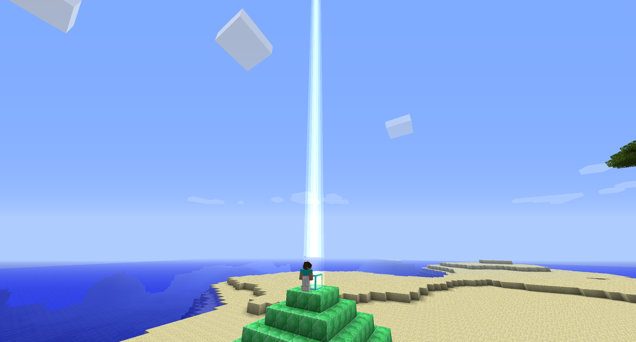 thedailyblock:  minecraft-nz:  kjminecraftadventures:  o.o  God shines his light on the chosen minecraftian  Notch shines his light on the chosen minecraftian FTFY  I HAVE THE POWWWAAAAAAAHHHHHHHHH!!!!