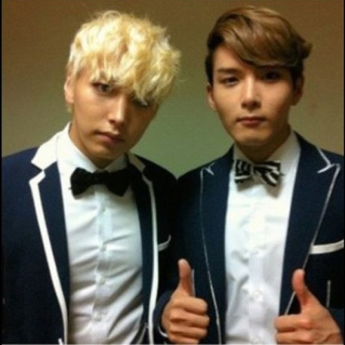 Minwook ~ #sungmin #ryeowook #minwook #kyeopta (Taken with Instagram)