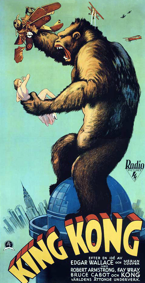 frankensteinsfunhouse:  King Kong (1933)