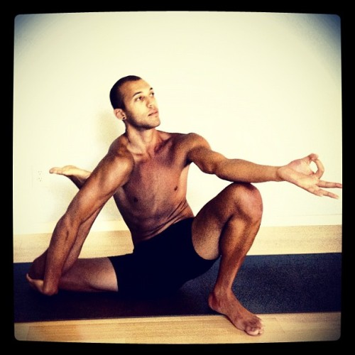 First time I've been able to stretch my way in to Yogadandasana. I was starting to forget the thrill of a new #yoga pose :) - @yogawithrocky- #webstagram