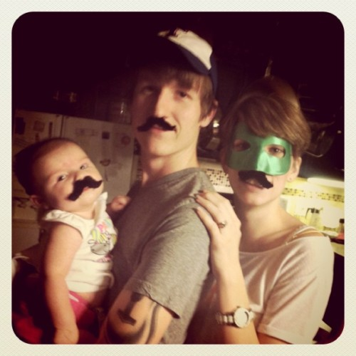 #love #family #moustache (Taken with Instagram)