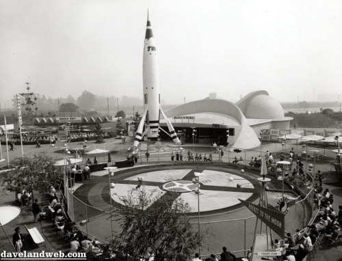 Disneyland Fun Facts #4 The Cox Flight Circle was where a person could watch a demonstration of gasoline-powered model planes, cars and boats. The Cox Flight Circle operated in 1955 and 1956. The demonstration area featured Cox engines on U-control as well as some boat model demos. (Source: Images of America: Early Amusement Parks of Orange County)
