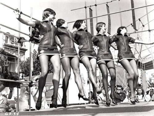 Dancers in 'The Young Girls Of Rochefort', 1967.