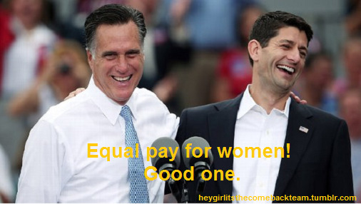 heygirlitsthecomebackteam:  Hey girl, Equal pay!  Good one.  Make it stop.