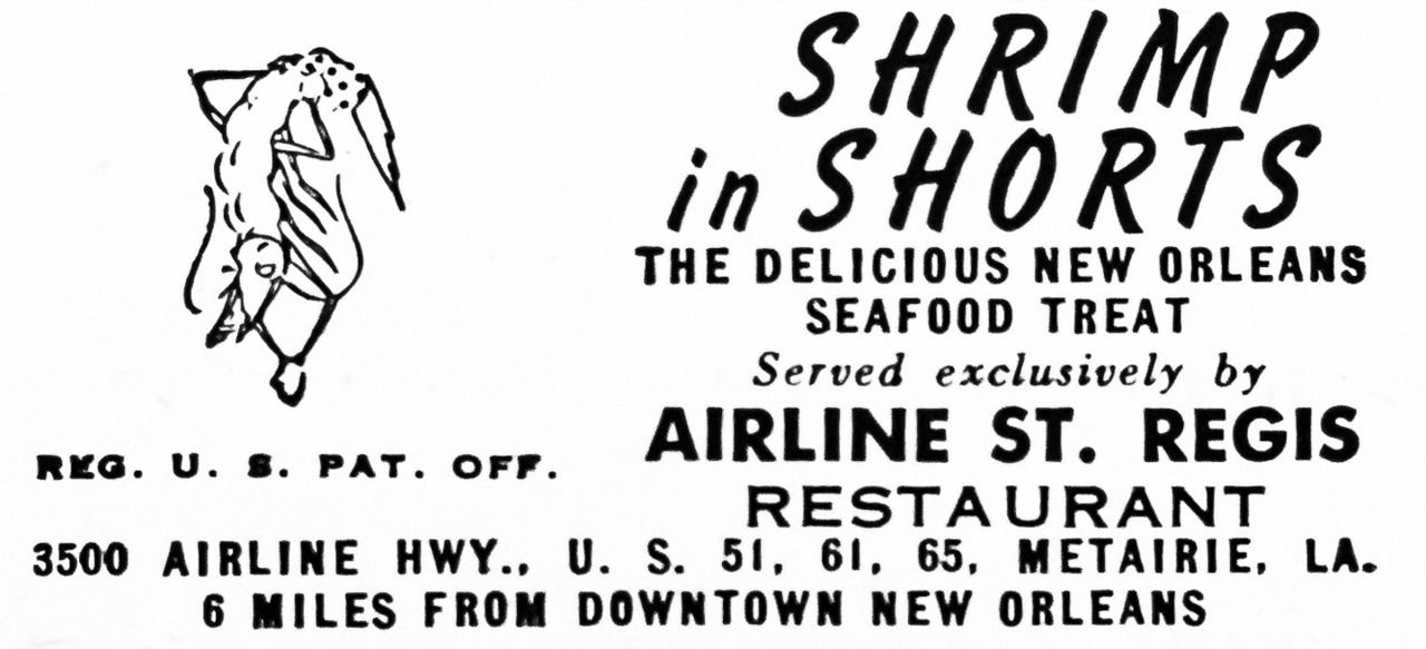 Airline St. Regis Restaurant Advertisement - Gourmet: August 1954