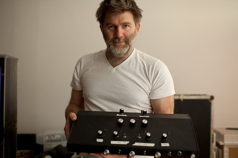 A day in the life with James Murphy and mixer photo by Shadi