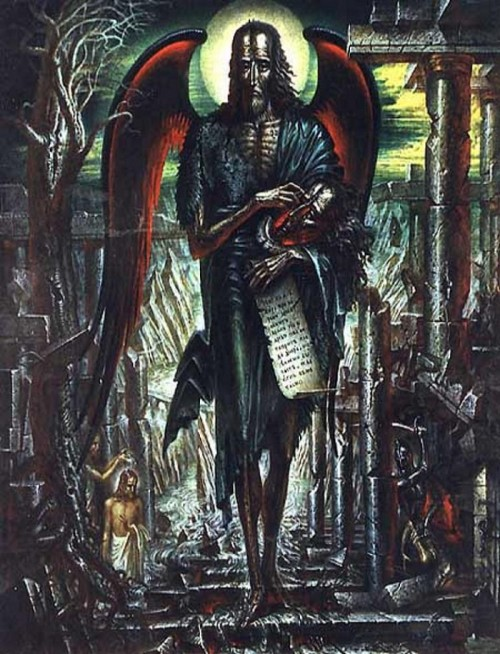 Fr Vladislav Provotorov. The Angel of the Desert. 1993