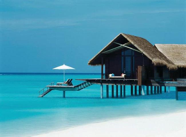Water Villa on Stilts in Maldives