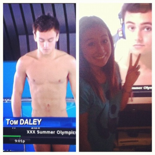 Tom, you can do me Daley (; #tomdaley  (Taken with Instagram)