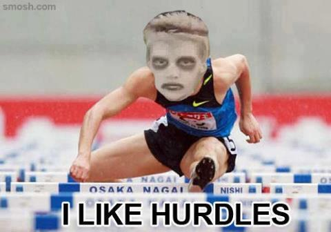 yo dog i hurd you like hurdles