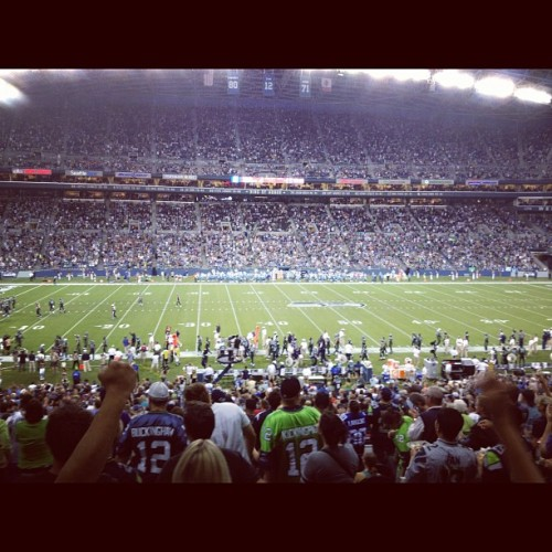 #TOUCHDOWN #gohawks (Taken with Instagram at CenturyLink Field)