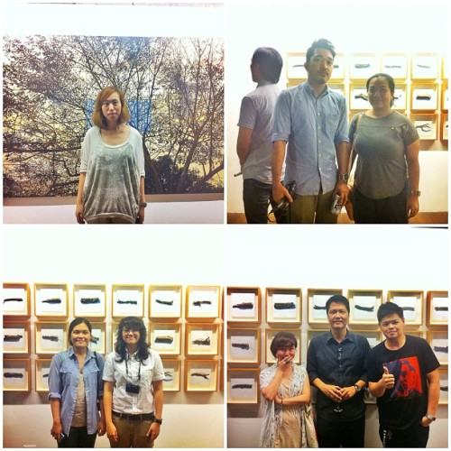 Friends at @soler's exhibit. #art #exhibit #philippines  (Taken with Instagram at Finale Art File)