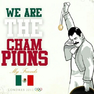 We Are The Champions.  (Tomada con Instagram)