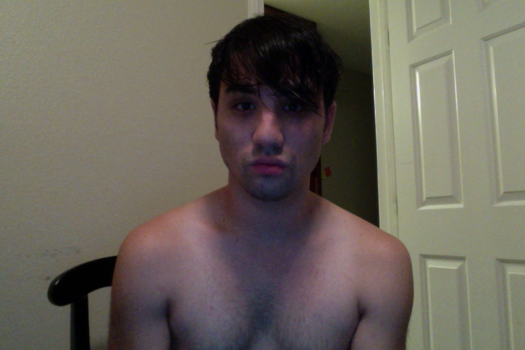 I'm just too lazy to put clothes on right now.