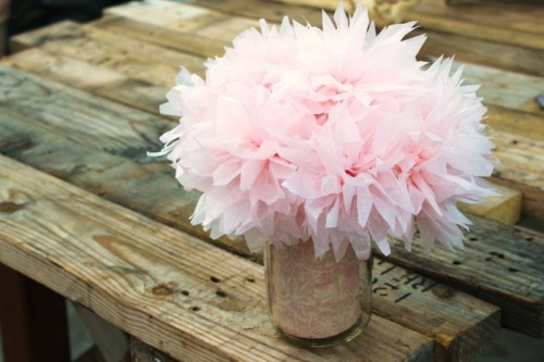 Pink Paper Peonies via Jessica Burns