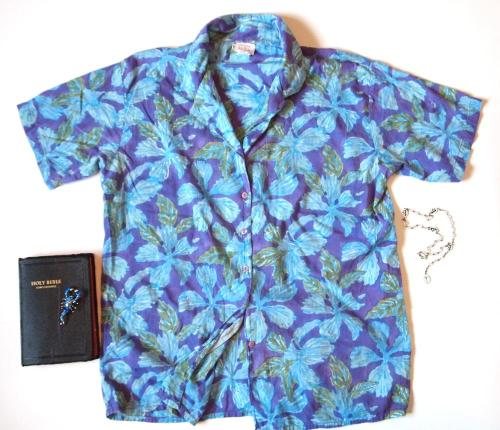 Phantom Floral Beach + Surf Shirt from {THE EYE OF FAITH}