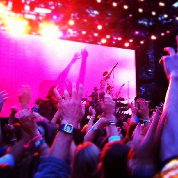 Passion pit outside lands (Taken with Instagram)