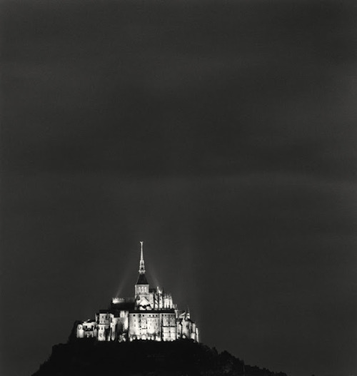 Mont St. Michel, France by Michael Kenna. 2004.