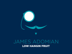 James Adomian // Low Hangin Fruit Today marks the release of the debut album of one of my favorite comedians, James Adomian, and it's produced by the illustrious Earwolf. I met James a few months before I even began working with Earwolf and just so happened to luck out later on getting to design his shirt and album art with him. We went through a lot of different rounds of ideas before settling on this wonderful Gay Villain mark and clean type combo. I'm extremely happy with the final outcome. We even did a nice digital download booklet for the album as well! If you're a fan of James, go and purchase this album ASAP. Photos of album and shirt courtesy Liezl Estipona. Thanks!