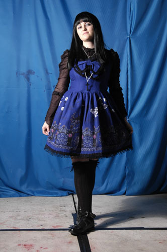 I used to be really into Gothic Lolita. I still think it's beautiful, but perhaps I am a little too old to pull it off now.
