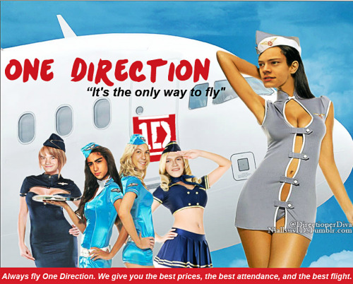 One Direction. It's the only way to fly.