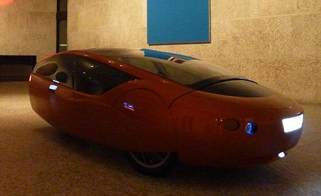 Urbee: The world's first 'printed' car rolling off the 3d printing presses