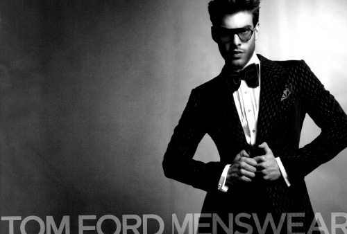 Jon Kortajarena for Tom Ford menswear