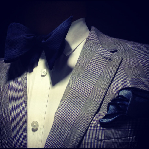 Paul Smith shirt and suit - Lanvin bow tie -Alexander Olch pocket square