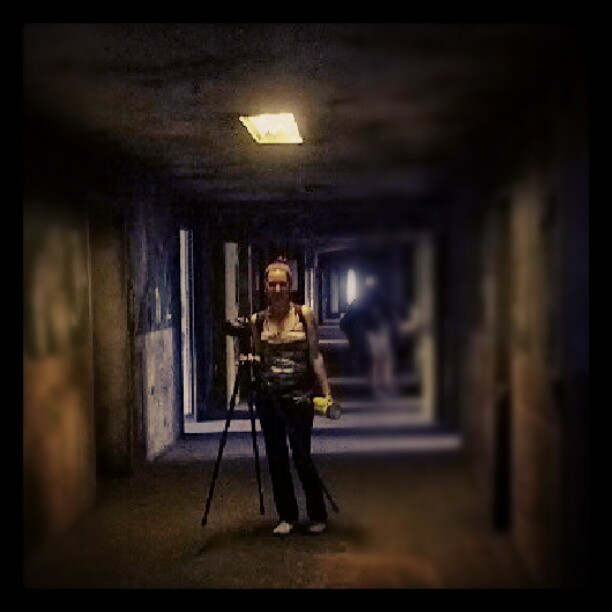 Armed with only a camera and flash lite…. #lindavistahospital #lindavista #photowalk #pnla #photonightsla #abandoned #derelict #haunted #creepy #scary #psycho #hospital #instagramla #instagood #eastLA #losangeles #historical #landmark #secret #hallway #shadows #ghosts #past #vintage  (Taken with Instagram)