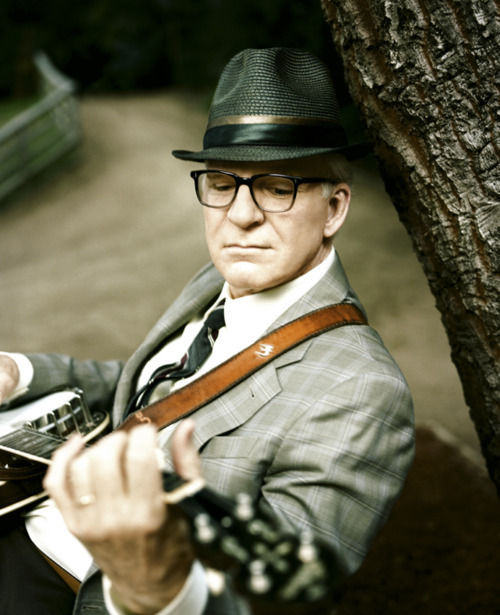 Steve Martin. Funny, cool and musical!