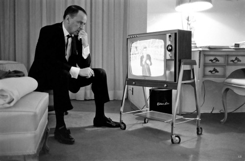 1965 … Frank watching Frank Jr. (by x-ray delta one)