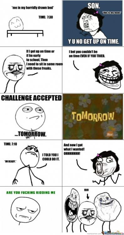 psych-comedy:  Reverse Psychology Rage Comic