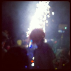 thevagabonddon:  Fireworks (Taken with Instagram)