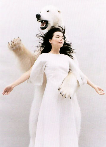 State of emergency Is where I want to be  Bjork - Joga