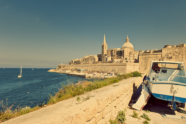 | ♕ |  A Day in Valletta - Malta  | by © Allard One  via ysvoice : dreamsandnightscapes