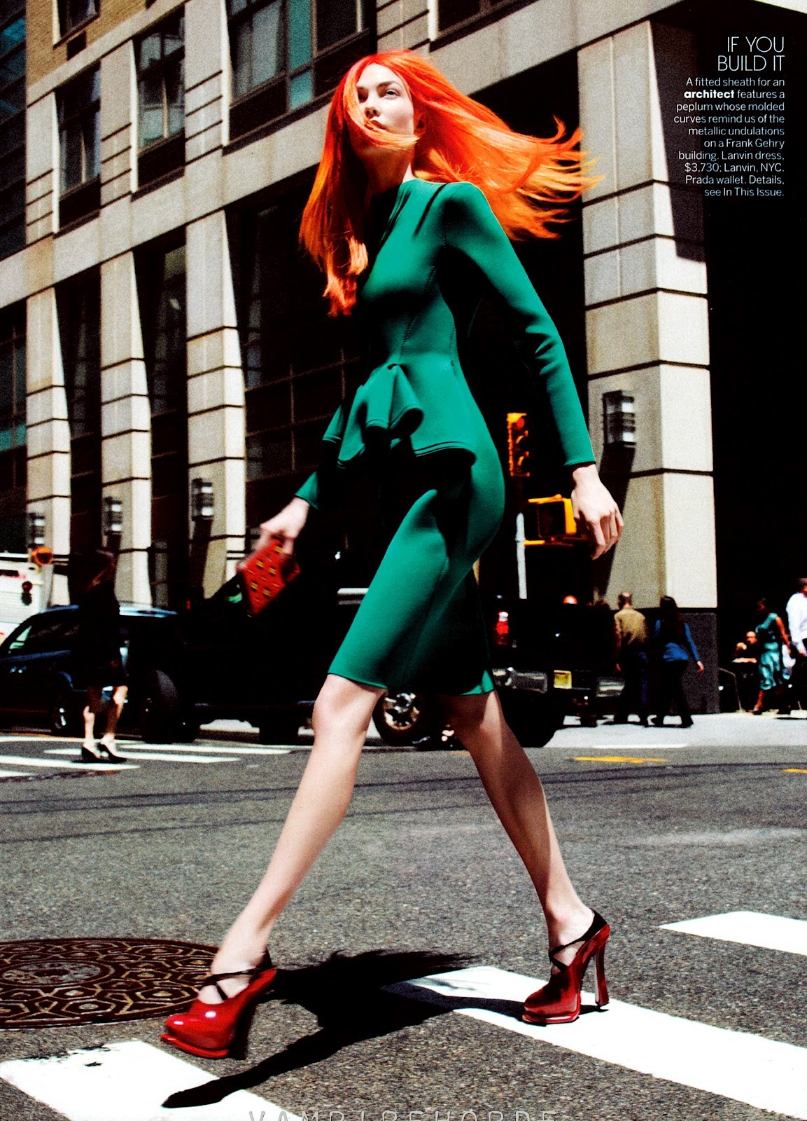 dustjacketattic:  karlie kloss by david sims