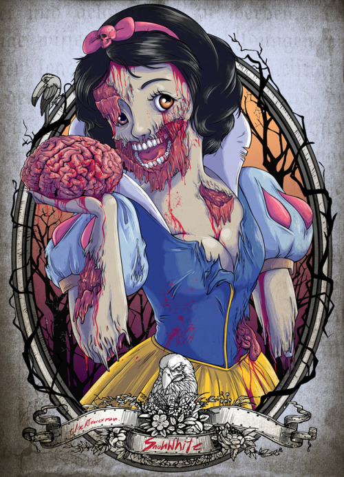 neuroimages:  Zombie Snow White by Witit Karpkraikaew.