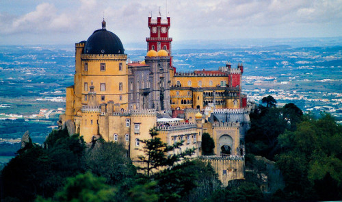 Sintra Portugal, Palacio de la Pena by meunierd on Flickr.