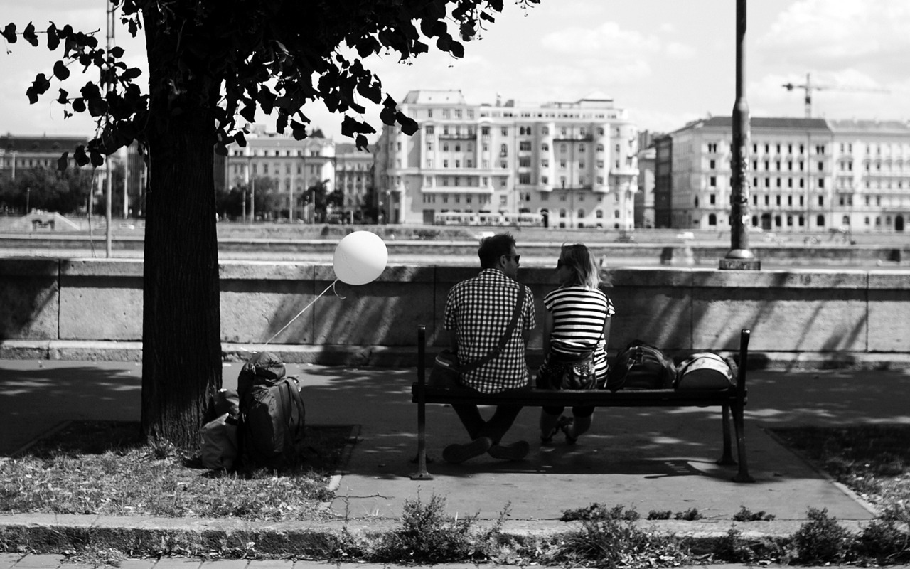 By the Danube, Budapest // August 2012
