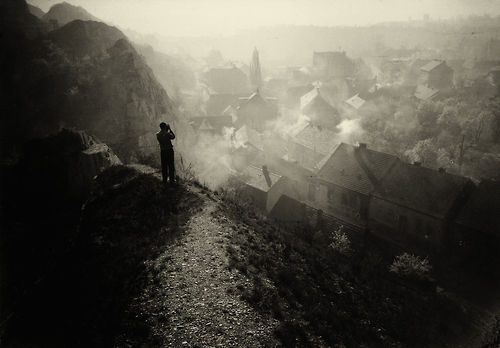 the-night-picture-collector:  Premysel Koblic, View of a Village from Above, 1930