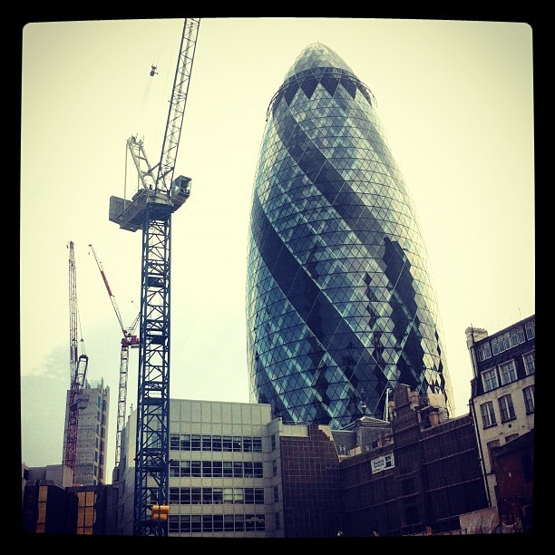 Gherkin  (Taken with Instagram)