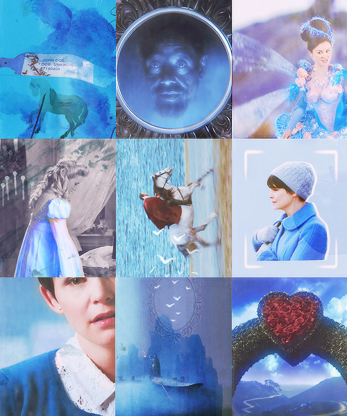 saidgoodbyewithwords:  | Color Meme: [ once upon a time + blue ]
