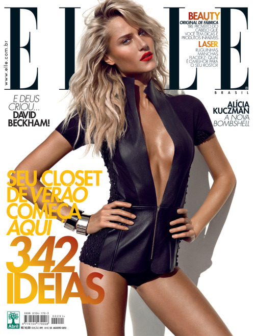 Alícia Kuczman by Gui Paganini for Elle Brasil August 2012.