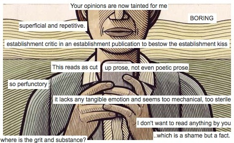 "comments ""shitstorm"" unfolds on the Grauniad's review of 81 Austerities"