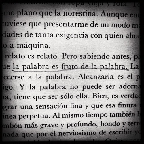 La palabra. #books #claricelispector #words #quote #blackandwhite  (Taken with Instagram)
