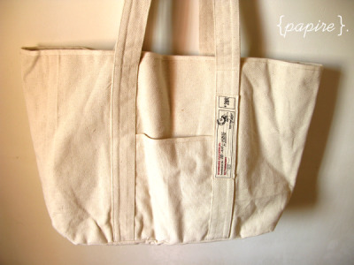 Large Cotton Twill Canvas Bag  Dimension: 51(L)*35(H) cm ; Base: 38(L)*12(W); Handles: 19cm (H) Great looking bag that can carry large bulky items or art boards and documents that are larger than normal Zakka influenced style  Made of strong, durable cotton canvas  SGD$26.00 each  Detail: