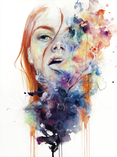 agnes-cecile:  this thing called art is really dangerous