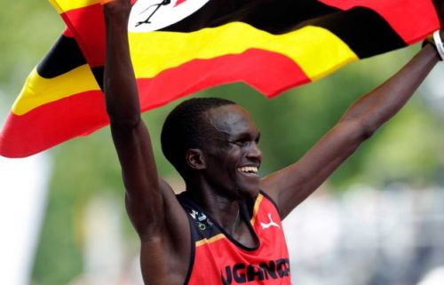 "Stephen Kiprotich (Uganda):  On winning a surprise gold: ""I can say I am very happy to win a medal for my country. I love my people. Ugandans are very happy because we haven't won a medal in marathon races (before)."" On the race: ""The pace was too fast and I knew I could not run away from them so I just had to keep up with them (the Kenyan runners, Wilson KIPSANG and Abel KIRUI). I tried to settle and then I had to break away because I wanted to win this medal."" via The New Vision"