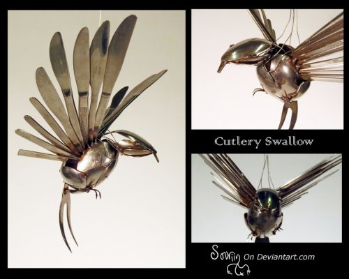 deviantbirds:  Cutlery Swallow by ~Sovriin